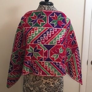 Sweaters - Colorful Handmade Shaw/Shoudler Covering